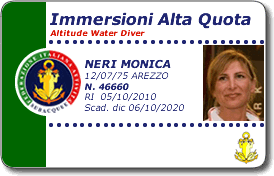 Immersioni in alta quota