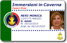 Immersioni in caverna