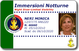 Immersioni notturne